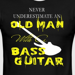 Old Man With A Bass Guitar T Shirt - Men's Ringer T-Shirt