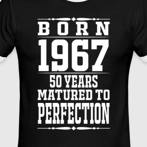 1967 - 50 years perfection - 2017 - Men's Ringer T-Shirt