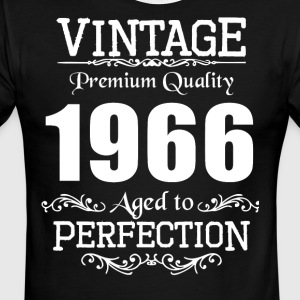 Vintage Premium Quality 1966 Aged To Perfection - Men's Ringer T-Shirt