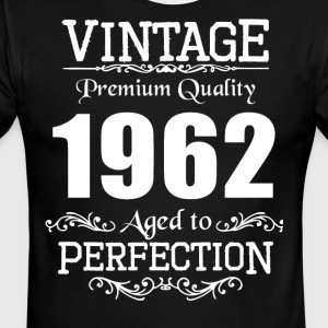 Vintage Premium Quality 1962 Aged To Perfection - Men's Ringer T-Shirt