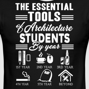 ARCHITECTURE STUDENTS TEE SHIRT - Men's Ringer T-Shirt
