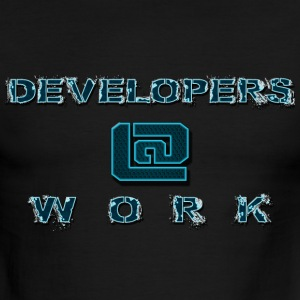 DEVELOPERS@WORK - Men's Ringer T-Shirt