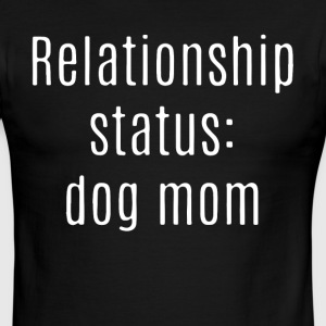 relationship status dog mom t-shirts - Men's Ringer T-Shirt