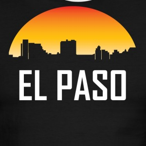 El Paso Texas Sunset Skyline - Men's Ringer T-Shirt