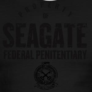 Seagate Federal Penitentiary - Men's Ringer T-Shirt