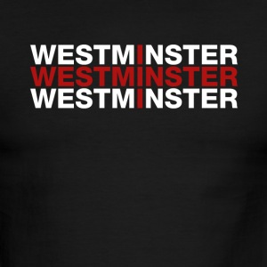 Westminster United Kingdom Flag Shirt - Men's Ringer T-Shirt