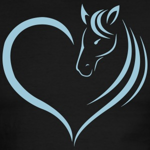 HORSE HEART - Men's Ringer T-Shirt