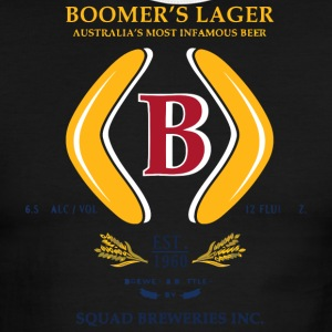 Boomer s Squad Breweries - Men's Ringer T-Shirt