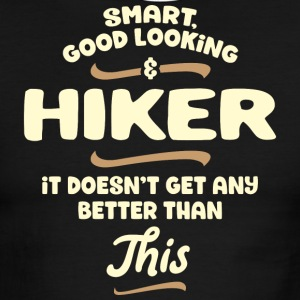 Smart, good looking and HIKER - Men's Ringer T-Shirt