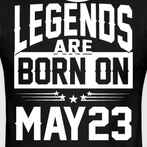 Legends are born on May 23 - Men's Ringer T-Shirt