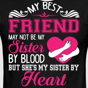 She's My Sister By Heart T Shirt - Men's Ringer T-Shirt