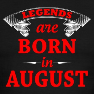 legends are born in augusts - Men's Ringer T-Shirt
