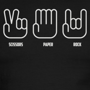 SCISSORS PAPER ROCK - Men's Ringer T-Shirt