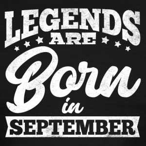 Legends are born in September - Men's Ringer T-Shirt