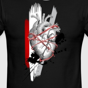 Heart Attack - Men's Ringer T-Shirt