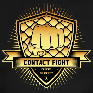Contact Fight Gold - Men's Ringer T-Shirt