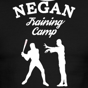 Negan Training Camp T Shirt - Men's Ringer T-Shirt