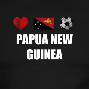 Papua New Guinea Football Shirt - Papua New Guinea - Men's Ringer T-Shirt