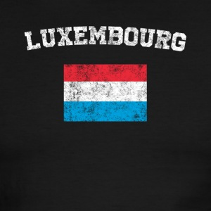 Luxembourger Flag Shirt - Vintage Luxembourg T-Shi - Men's Ringer T-Shirt
