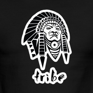 Tribe (Native American w/Outline) - Men's Ringer T-Shirt