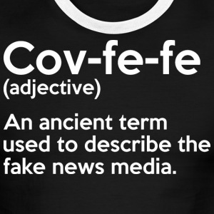 Covfefe Adjective Meaning - Men's Ringer T-Shirt