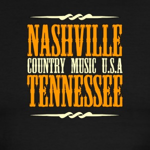 Nashville Tennessee Country Music - Men's Ringer T-Shirt