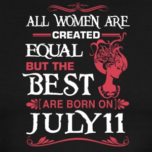 The Best Woman Born On July 11 - Men's Ringer T-Shirt