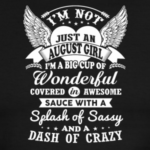 I m Not Just An August Girl - Men's Ringer T-Shirt