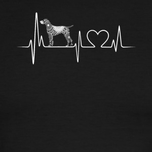german shorthair pointer heartbeat shirt - Men's Ringer T-Shirt