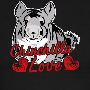 Chinchilla Love Tee & Hoodie - Men's Ringer T-Shirt