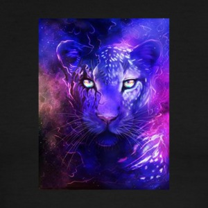 glowing leopard - Men's Ringer T-Shirt