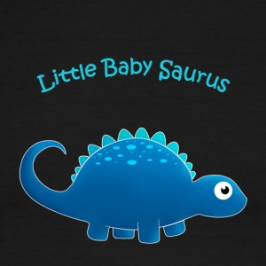blue Little Baby Saurus - Men's Ringer T-Shirt