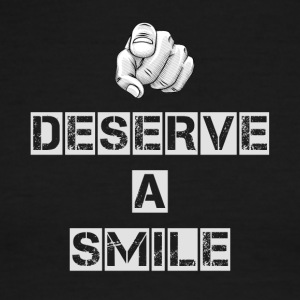 You Deserve A Smile - Men's Ringer T-Shirt