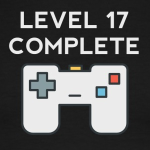 Level 17 Complete 17th Birthday - Men's Ringer T-Shirt