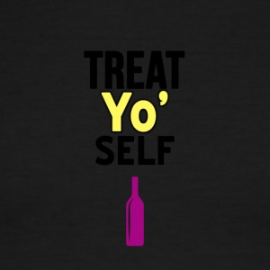 Treat Yo self - Men's Ringer T-Shirt