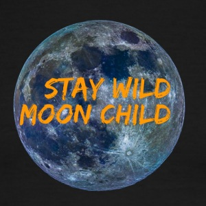 Stay Wild Moon Child 3 26 - Men's Ringer T-Shirt