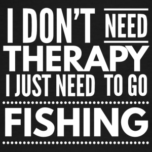 Fishing Therapy - Men's Ringer T-Shirt