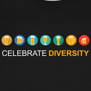 Celebrate Diversity - Men's Ringer T-Shirt