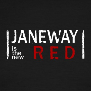 Janeway is the new RED - Men's Ringer T-Shirt