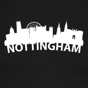 Arc Skyline Of Nottingham England - Men's Ringer T-Shirt