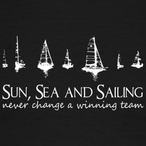 Sun, Sea and Sailing. Never change a winning team! - Men's Ringer T-Shirt