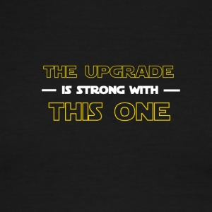 THE UPGRADE IS STRONG - Men's Ringer T-Shirt