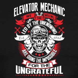 WE THE WILLING - ELEVATOR MECHANIC SHIRT - Men's Ringer T-Shirt
