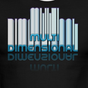 Truth Tees Multi dimensional - Men's Ringer T-Shirt