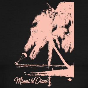 Miami To Diani Pink Edition - Men's Ringer T-Shirt