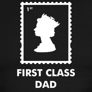 First Class Dad - Men's Ringer T-Shirt