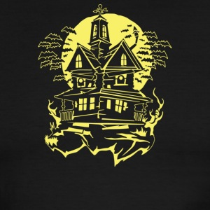 Haunted House - Men's Ringer T-Shirt
