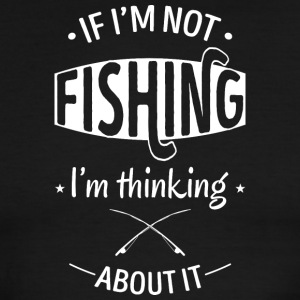 Thinking about fishing - Men's Ringer T-Shirt