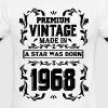 A Star Was Born In 1968 - Men's Ringer T-Shirt