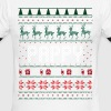 Pappy Ugly Christmas - Men's Ringer T-Shirt